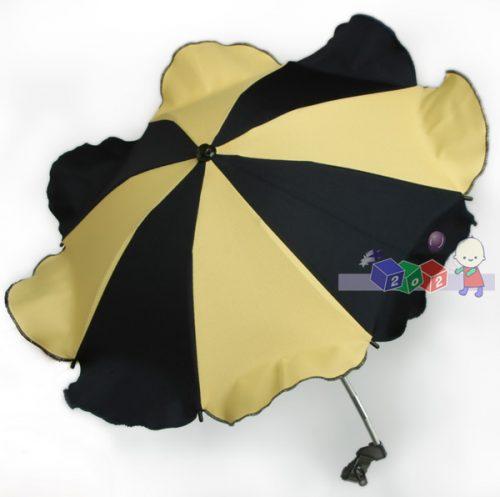 Parasolka przeciwsłoneczna do wózków dziecięcych czerwona