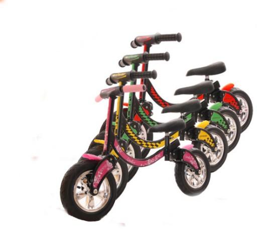 Adbor rowerek biegowy Biker Różowy