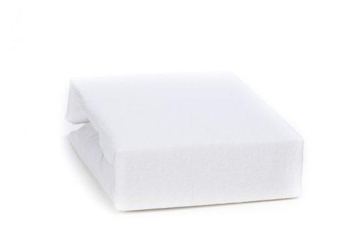 Prześcieradełko z gumką na łóżeczko 140x70 Duet Baby_Biały
