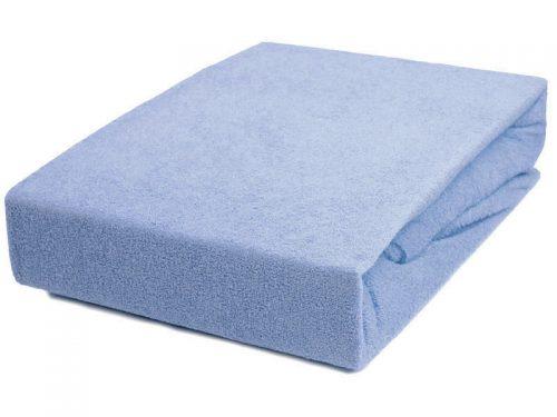 Prześcieradełko z gumką na łóżeczko 140x70 Duet Baby Niebieski