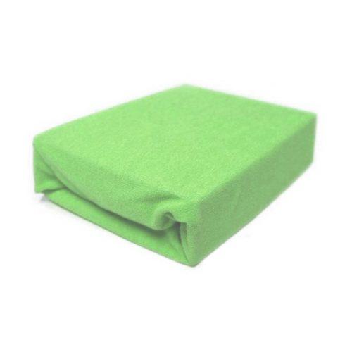 Prześcieradło z gumką frotte na materac 120 x 60 Duet Baby Zielony