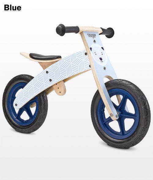 Rowerek biegowy Woody Blue BikerToyz niebieski