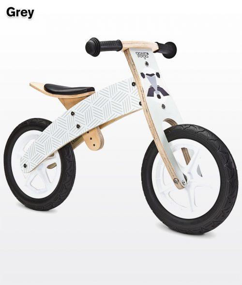 Rowerek biegowy Woody szary BikerToyz