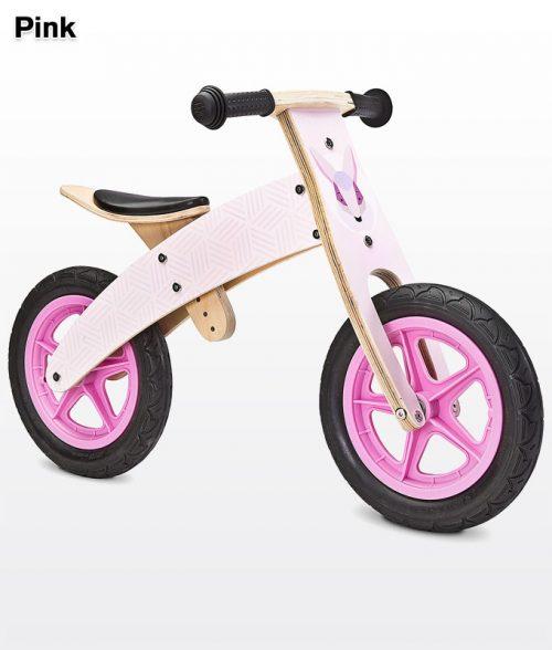 Rowerek biegowy Woody Pink BikerToyz różowy
