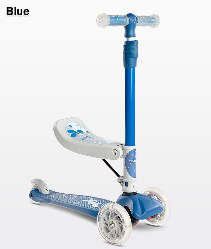 Hulajnoga z siedziskiem dla dzieci Tixi Blue Niebieski Toyz