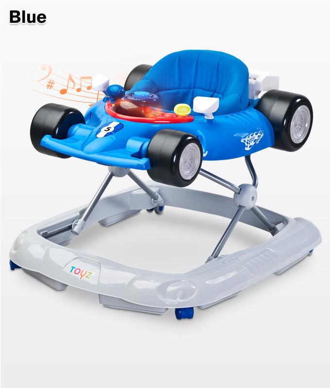 Muzyczny chodzik dla dziecka samochód - Formuła, Toyz Blue