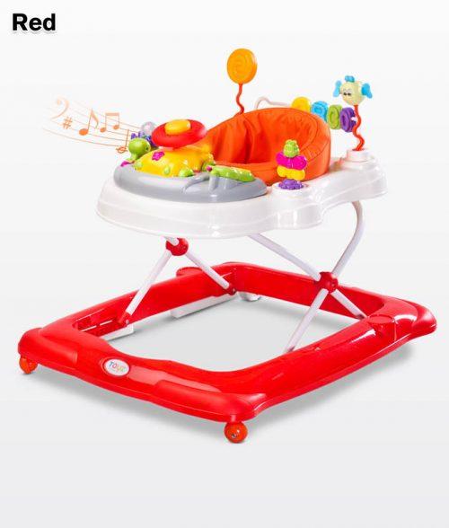 Chodzik dla dziecka Stepp z pałąkiem do zabawy, Toyz Red