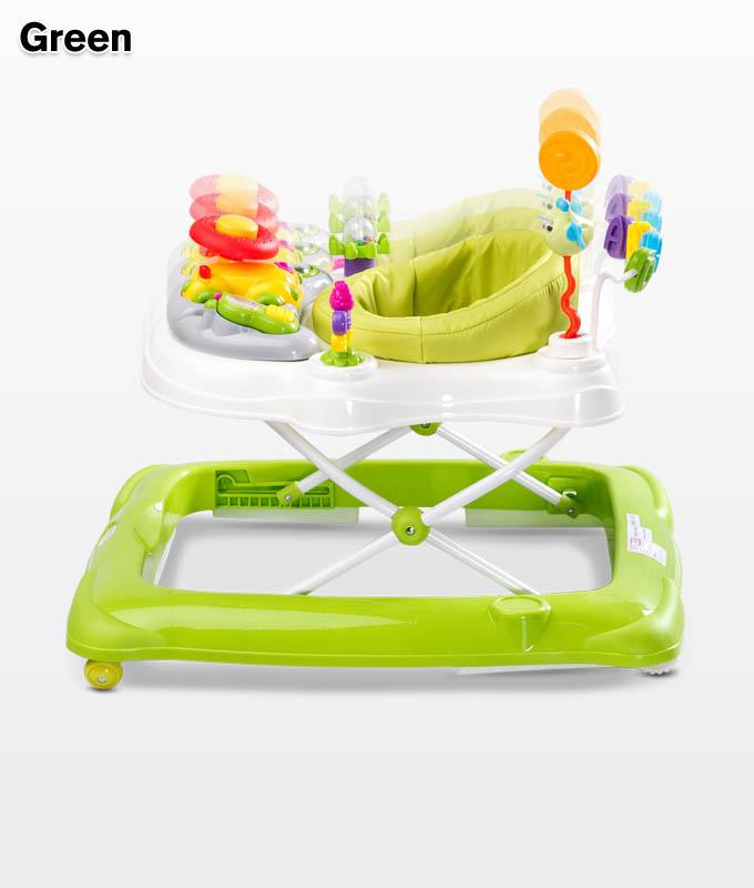 Chodzik dla dziecka Stepp z pałąkiem do zabawy, Toyz Green