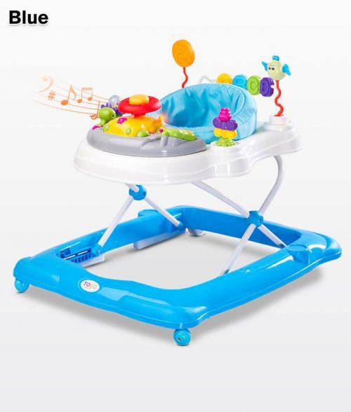 Chodzik dla dziecka Stepp z pałąkiem do zabawy, Toyz Blue