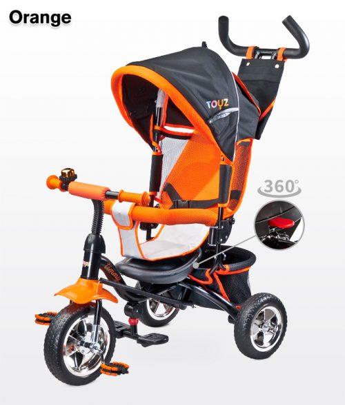 Rowerek trójkołowy z obracanym siedziskiem 360 Timmy, Toyz Orange