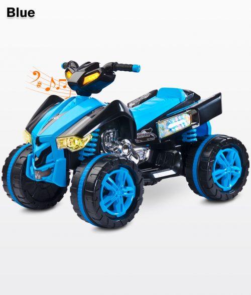 Quad Raptor pojazd na akumulator Toyz Blue