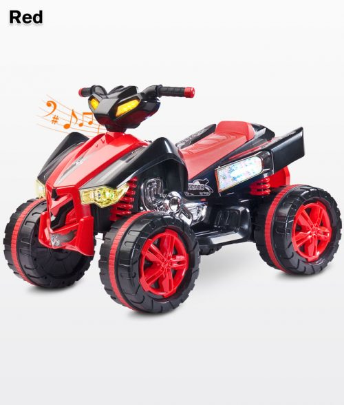 Pojazd na akumulator Quad Raptor, Toyz Red