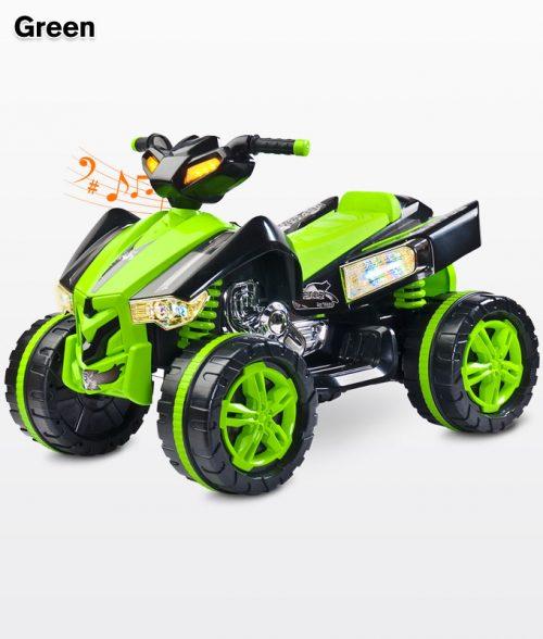 Pojazd na akumulator Quad Raptor, Toyz Green