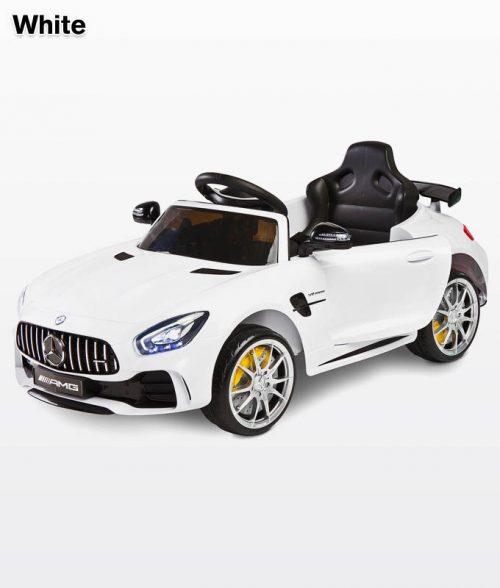 Pojazd na akumulator dla dzieci Mercedes GTR White