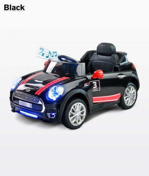 Samochód  na akumulator z pliotem dla rodzica, Toyz Black