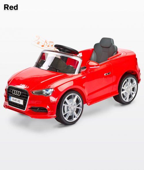 Pojazd na akumulator dla dzieci samochód na akumulator Audi A3 Red