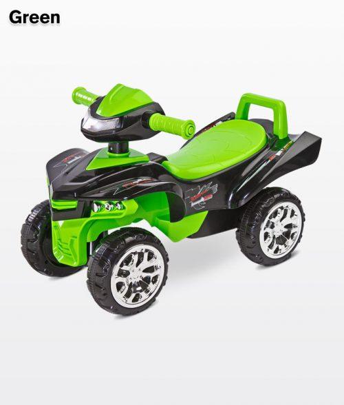 Toyz jeździk odpychacz mini raptor Green