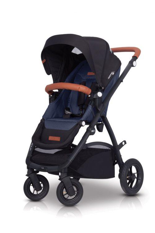 Wielofunkcyjny, wygodny wózek spacerowy wykonany z wysokiej jakości materiałów Easy Go Optimo AIR