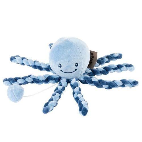 Pozytywka dla niemowląt ośmiorniczka Nattou n blue