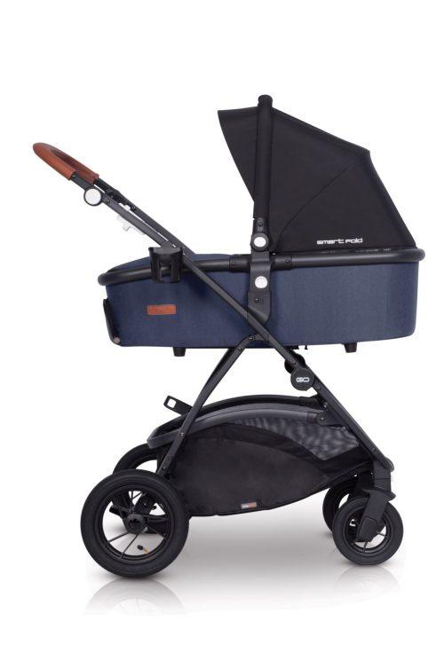 Wózek głęboko spacerowy Optimo Air EasyGO 2w1 z opcją montażu fotelika 0-13kg