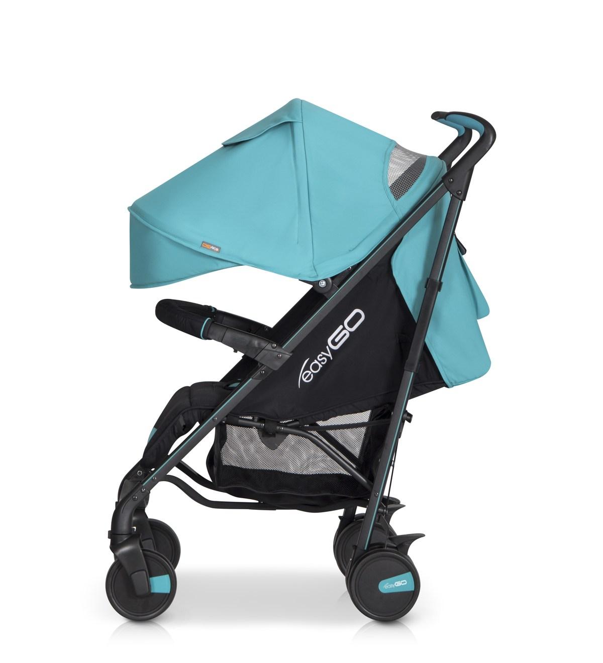 Kompaktowy wózek spacerowy Nitro Easy Go - typu parasolka