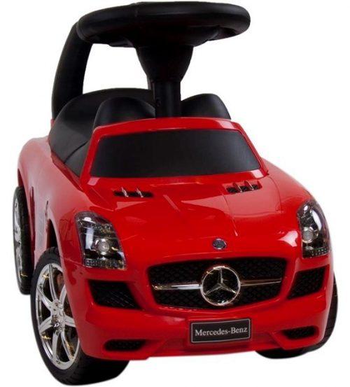 Czerowny mercedes dla dzieci jeździk odpychacz kolor czerowny
