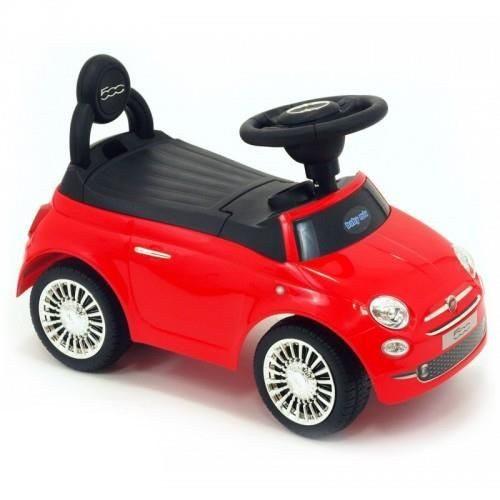 Pojazd Fiat 500 Alexis pchacz dla dziecka czerwony