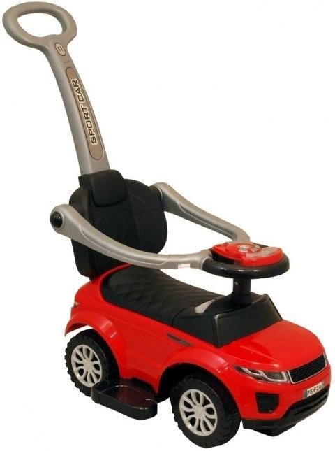Pojazd z dźwiękiem dla dzieci Alexis czerwony