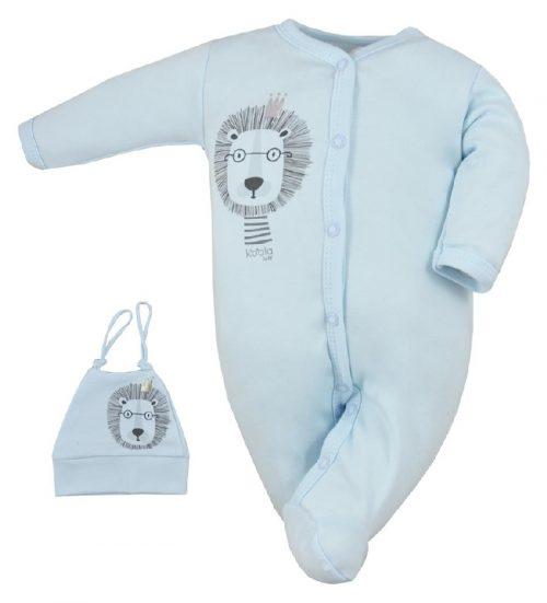 Pajac niemowlęcy z czapeczką Simba Koala Baby Niebieski 68