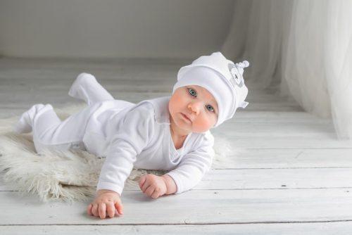 Wyprawka dla niemowlaka 4 elementowa Simba firmy Koala baby Biały 50