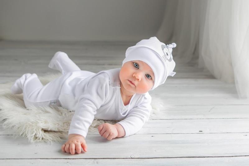 Wyprawka dla niemowlaka 4 elementowa Simba firmy Koala baby Kremowy 50