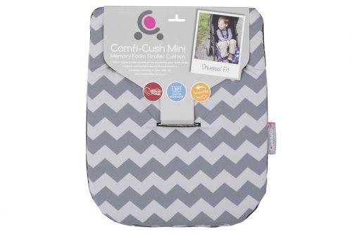 Wkładka do wózka pod pupę z pianki memory Comfi Crush zebra
