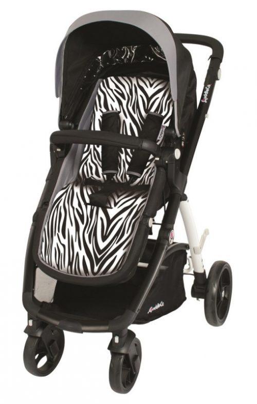 Wkładka do wózka Comfi Cuddle pianka memory antywstrząsowa Zebra