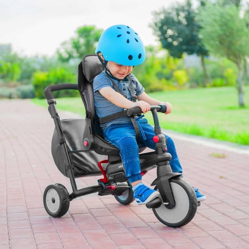 Rowerek trójkołowy 360 stopni - wózek 8w1 Smart Trek