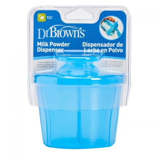 Dr Browns Pojemnik na mleko w proszku niebieski