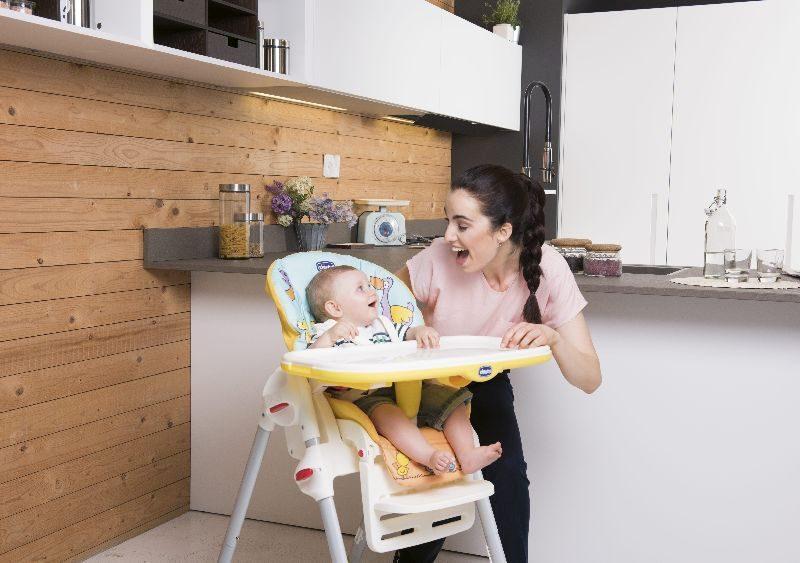 Krzesełko do karmienia niemowląt i dzieci Polly Easy Chicco Nature