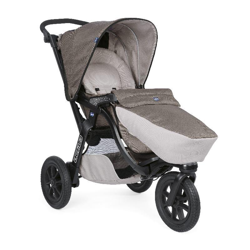 Trójkołowy sportowy wózek 3w1 Activ3 Trio firmy Chicco Dove Grey