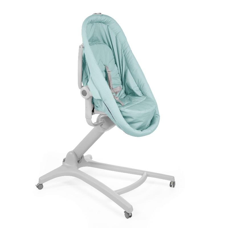 Chicco Baby Hug 4w1 – łóżeczko, gondola, leżaczek, krzesełko do karmienia Aquarelle