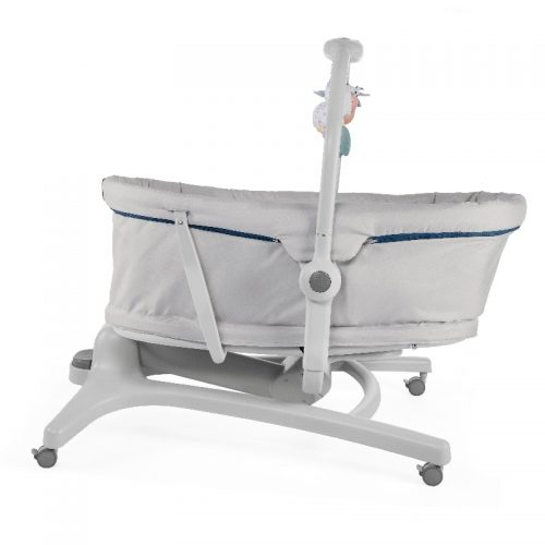 Chicco Baby Hug 4w1 – łóżeczko, gondola, leżaczek, krzesełko do karmienia Glacial