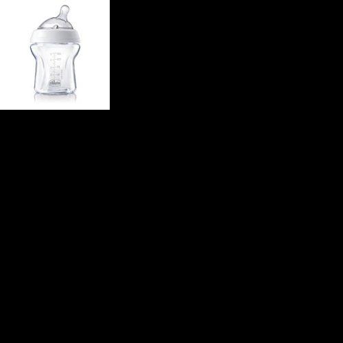 Chicco butelka szklana naturalfeeling 150 ml smoczek wolny 0+