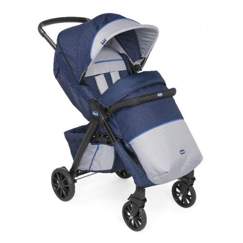 Chicco Kwik.One wózek spacerowy do 15 kg Blue kolor Priint