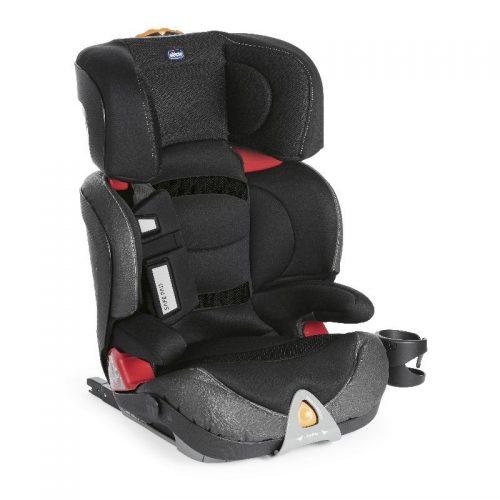 Fotelik samochodowy 15-36 z isofixem Oasys 2-3 FixPlus Evo regulacja pochylenia oparcia Chicco jet Black