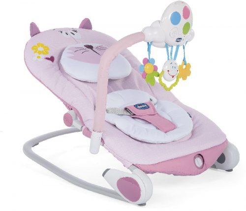 Leżaczek dla niemowląt i dzieci od 0-18 kg Balloon Chicco kolor Miss Pink