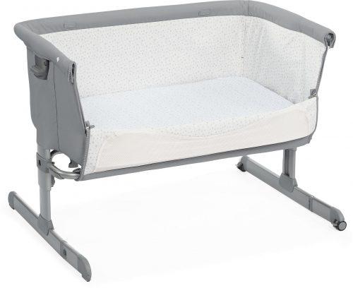 Łóżeczko dostawnę dla niemowląt Next2 Me kolor Pearl Chicco