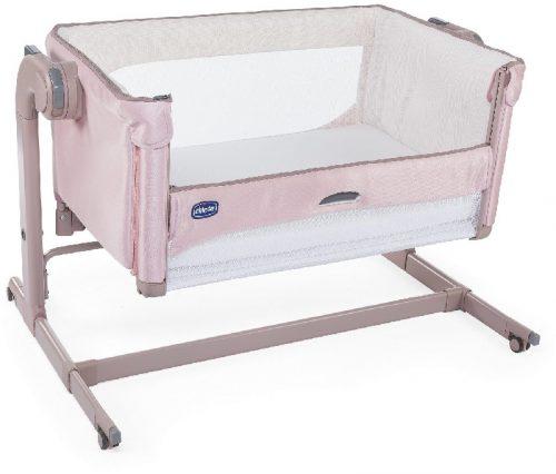 Łóżeczko Chicco next2Me Magic dla niemowląt - łóżeczko dostawne Candy Pink