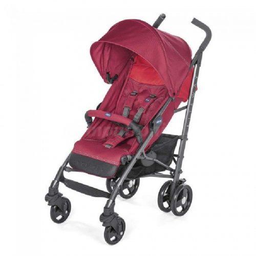 Wózek spacerowy do 22,5 kg  Chicco Lite Way 2 z pałąkiem parasolka Red Berry