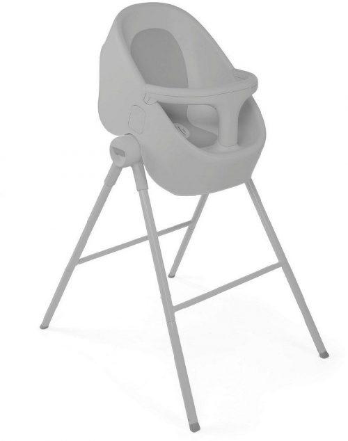 Wanienka ze stojakiem do kąpieli noworodków i starszych dzieci - krzesełko Bybble nest Chicco Cool Grey