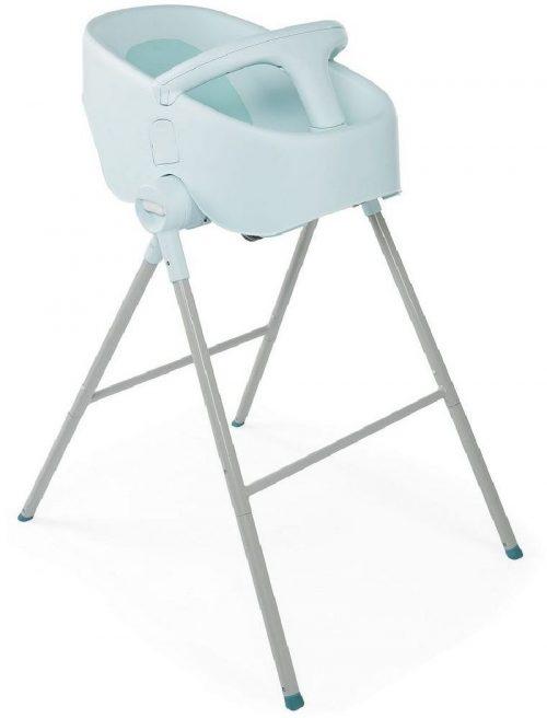 Stojak kąpielowy, wanienka do kąpieli krzesełko do karmienia Bubble Nest Chicco Dusty Green