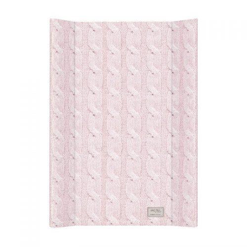 Nadstawka przewijak na łóżeczko 70x50 Pastel Cool Calble różowa