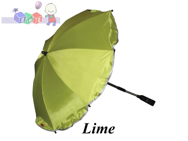 Uniwersalny parasol z filtrem UV do wózków głębokich i spacerowych Kees Lime